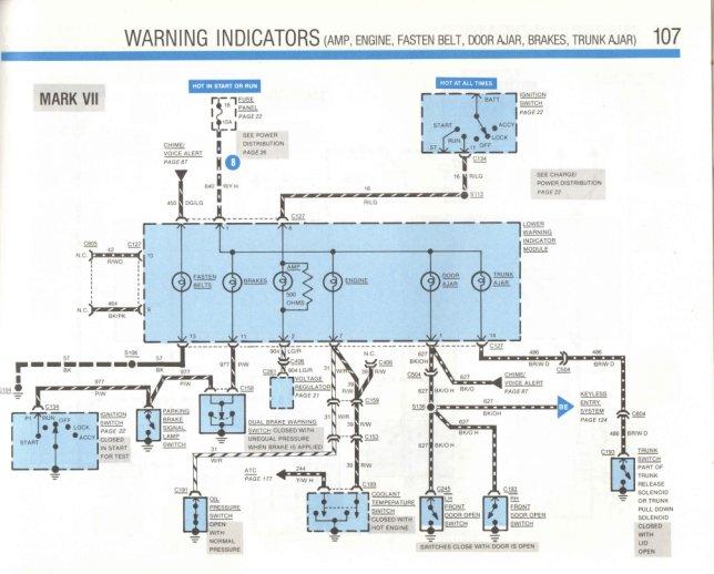 lincoln mark vii fuse box wiring diagram 7.3 idi wiring diagram lincoln mark vii wiring diagram